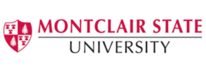 The logo for Montclair State University which placed 23d in our ranking of top value degrees in food science
