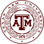The logo for Texas A&M which is 2nd in our ranking of top geologist online degree