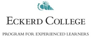 The logo for Eckerd College which ranked 18th for schools with the best marine science colleges
