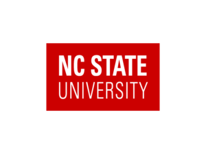 The logo for NC State which placed 4th in our ranking of top marine biology colleges