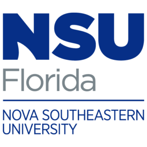 The logo for NSU with placed 14th for top marine biology colleges