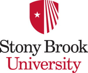 The logo for Stony Brook University which placed 5th for schools that offer the best marine science degree