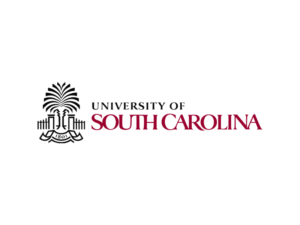 The logo for University of South Carolina which offers one of the best marine science degrees