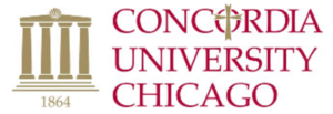 The logo for Concordia University which placed 9th for top online phd in marketing