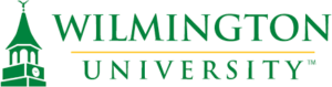 The logo for Wilmington University which ranked 8th for top phd in digital marketing