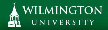 The logo fro wilmington university