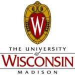 The logo for University of Wisconsin Madison which has one of the best historic campuses