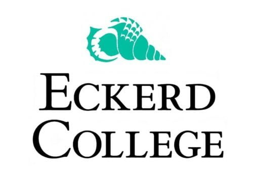 The school logo representing Eckerd College whose bachelor in animal behavior is number 15 in our ranking