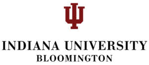 The logo for Indiana University in Bloomington which is a great school for history buffs