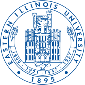 The logo for Eastern Illinois University which has a great masters of history online