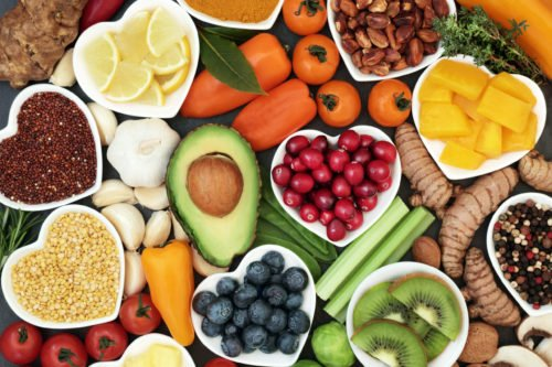Image of healthy foods for our article about food science majors