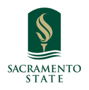 The logo for California State University which offers one of the best parks and recreation degree
