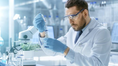 An image accompanying article on future employment outlook for the food science industry