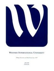 Western International University - Affordable Online Accounting Degrees