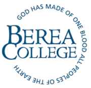 The logo for Berea College which ranked 1st for ltop most affordable liberal arts colleges with business majors