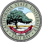 The logo for California State University which offers an top Bachelor's in International Studies online