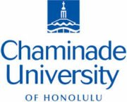 The logo for Chaminade University of Honolulu which offers a great Bachelor of International Relation