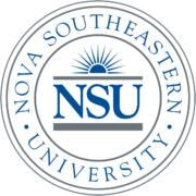 Logo of Nova Southeastern University for our ranking of best online master's HR