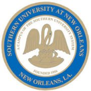 The logo for Southern University which maintains a small size in order to offer a low student-to-faculty ratio