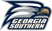 The logo for Georgia Southern University which offers a top international relations programs