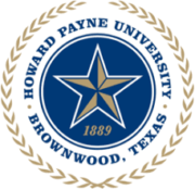 The logo for Howard Payne University which offers business majors at the undergraduate and graduate level