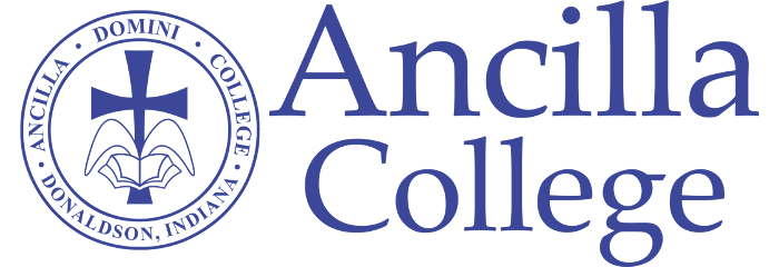 Logo for Ancilla College listing as one of our affordable catholic universities in the midwest