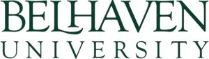 The logo for Belhaven University which has one of the cheapest online mpa