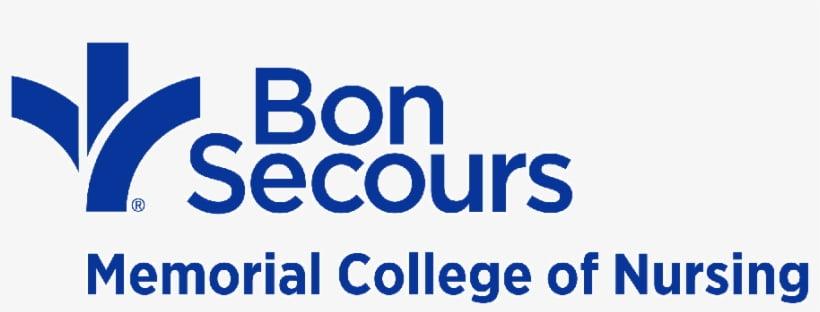 Logo for Bon Secours Memorial College of Nursing a small catholic colleges entry