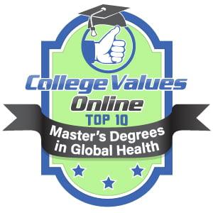 Top 10 Masters in Global Health