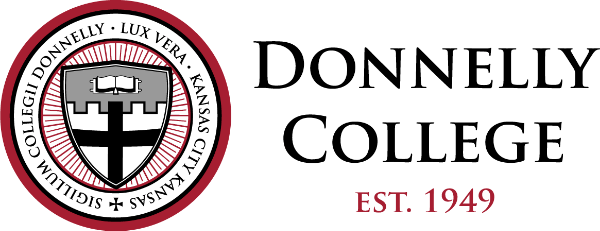 Logo for Donnelly College a most affordable catholic colleges entry