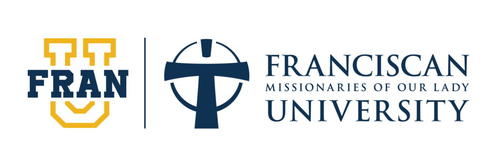 Logo for Franciscan Missionaries of Our Lady University a most affordable catholic colleges entry