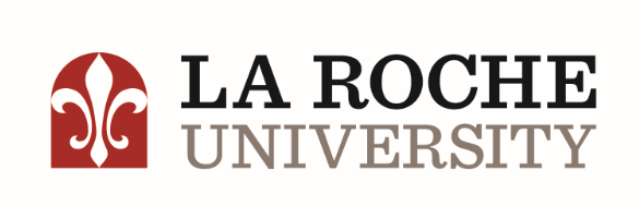 Logo for La Roche University a small catholic colleges entry