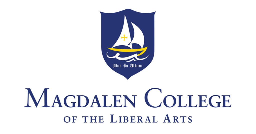 Logo for Magdalen College a small catholic colleges entry