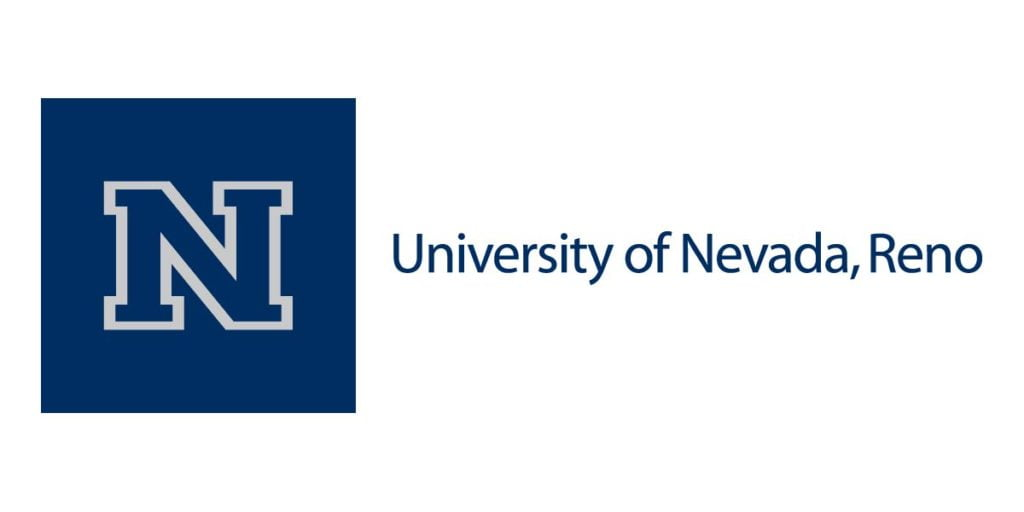The logo for the University of Nevada which is one of the best schools for an affordable executive mba