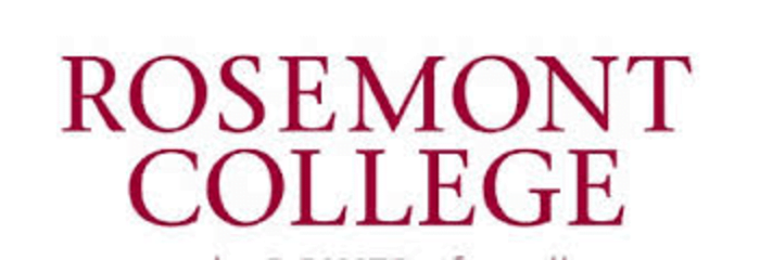 Logo for Rosemont College  a small catholic colleges entry