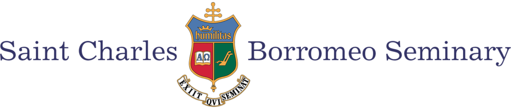 Logo for Saint Charles Borromeo Seminary  a most affordable catholic colleges entry