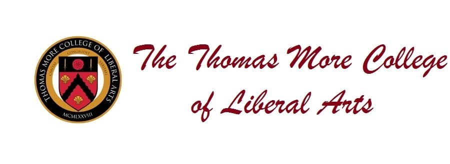 Logo for Thomas More College of Liberal Arts  a small catholic colleges entry