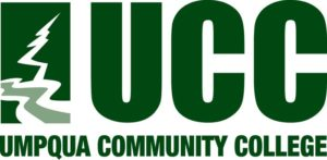 The logo for Umpqua Community College which offers a great agriculture associates degree