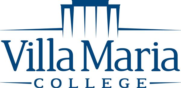 Logo for Villa Maria College a catholic college in new york