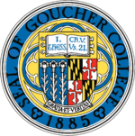 The logo for Goucher College which offers a great Environmental Studies major