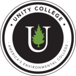 The logo for Unity College which is one of the most sustainable colleges