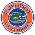The logo frot University of Florida