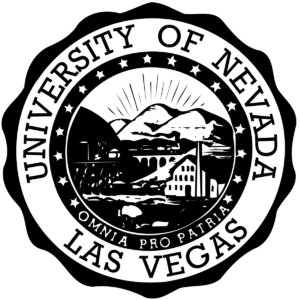 The logo for University of Nevada which is a great school for miningengineering