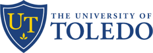 The logo for University of Toledo which placed 13th for the top 12 month fnp program