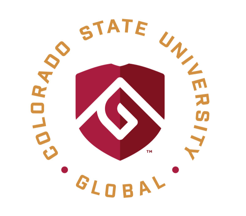 Logo for Colorado State University Global which ranks among Best Online Certificate Programs 2021