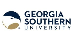 The logo for Georgia Southern University which offers a top food science program