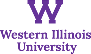 The logo for Western Illinois University which offers some great degrees for those looking to become dietitians