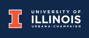 The logo for University of Illinois-Urbana/Champaign which has a great