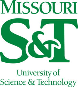 The logo for Missouri University of Science and Technology which is a top school for  bachelor in mining engineering