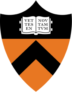 The logo for Princeton University which is one of the schools with most rhodes scholars